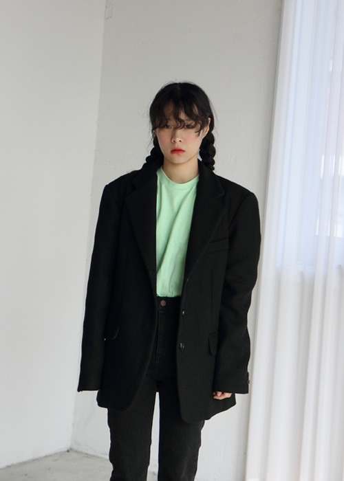 Three Button Wool Jacket(2color)