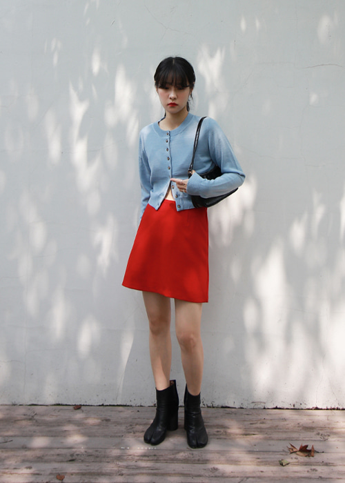 Basic Mini Skirt(2color)