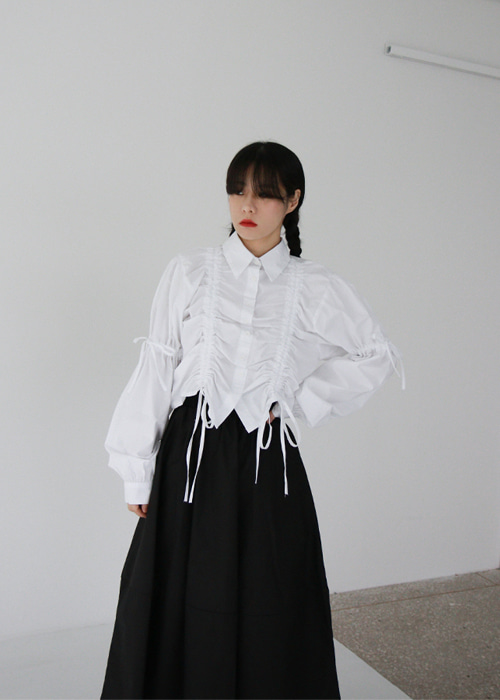 String Tie Shirt(2color)