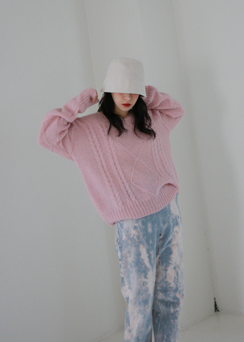 Fisherman Knit Sweater(4color)