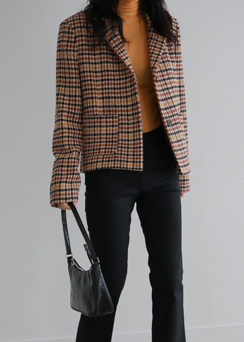 Two Button Check Jacket(2color)