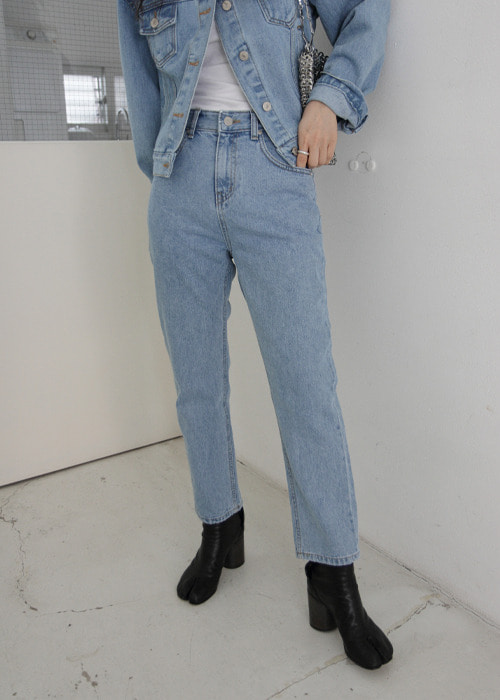 90's Straight Jeans(2color)