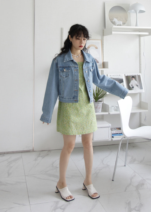 Bule Adorable Denim Jacket