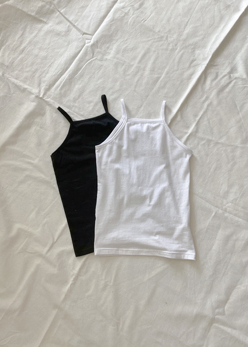 Basic Sleeveless Top(2color)