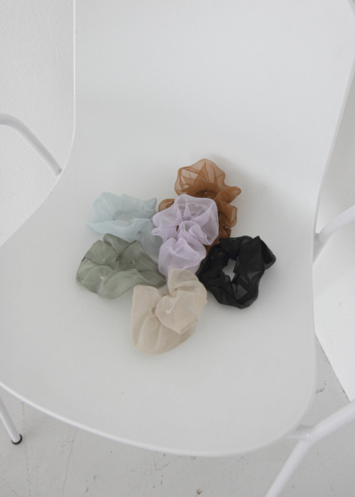 Organza Elastic Hair Band(7color)
