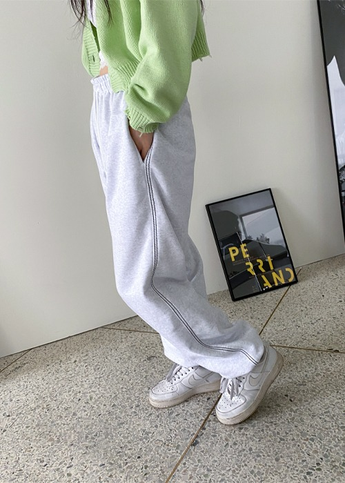 Double Stitch Jogger Pants(6color)